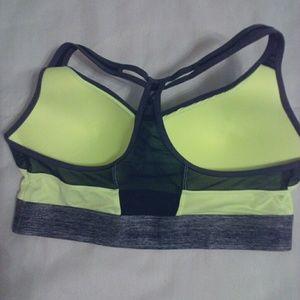 ed4f41e2be SO Intimates   Sleepwear - 🌼 So Brand Yellow Gray Sports Bra EUC